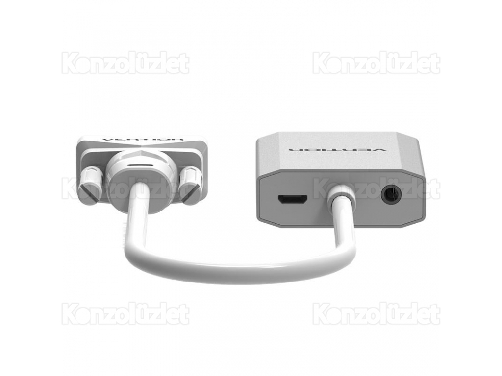 8842ad002d ... Vention Full HD VGA to HDMI átalakító adapter hangbemenettel ...