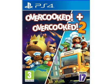 Overcooked! + Overcooked! 2 (PS4)