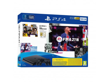 Playstation 4 SLIM 500 GB FIFA 21 Bundle  (PS4)