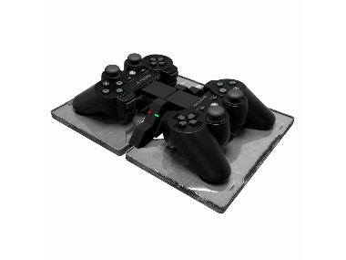 AC-1 ultra slim charging case for Playstation 3 [Gioteck]