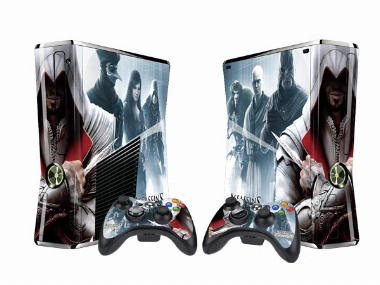 XBOX 360 Slim Assassin's Creed - Brotherhood Vinyl Skin [Pacers Skin, BOX1015-80]