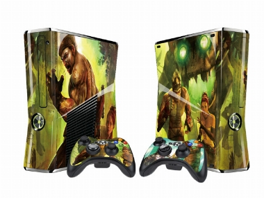 XBOX 360 Slim Enslaved Vinyl Skin [Pacers Skin, BOX1015-83]