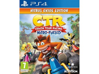 Crash™ Team Racing Nitro-Fueled - Nitros Oxide Edition (PS4)