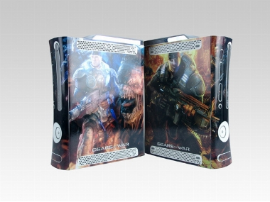 XBOX 360 Fat Gears of War Crystal Skin [Pacers Skin, BOX0832-04]