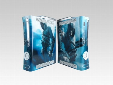 XBOX 360 Fat Assassin's Creed Crystal Skin [Pacers Skin, BOX0832-07]