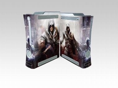 XBOX 360 Fat Assassin's Creed 2 Crystal Skin [Pacers Skin, BOX0832-37]