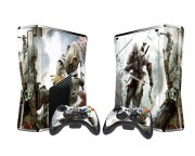 XBOX 360 Slim Assassin's Creed 3 Vinyl Skin [Pacers Skin, BOX1015-134]