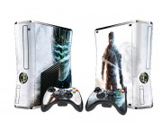 XBOX 360 Slim Dead Space 3 Vinyl Skin [Pacers Skin, BOX1015-143]