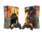 XBOX 360 Slim Witcher Vinyl Skin [Pacers Skin, BOX1015-186]