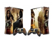 XBOX 360 Slim Injustice Vinyl Skin [Pacers Skin, BOX1015-257]