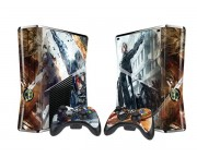 XBOX 360 Slim Metal Gear Rising - Revengeance Vinyl Skin [Pacers Skin, BOX1015-263]