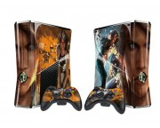 XBOX 360 Slim Remember Me Vinyl Skin [Pacers Skin, BOX1015-266]