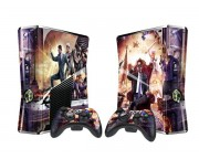 XBOX 360 Slim Saint's Row 4 Vinyl Skin [Pacers Skin, BOX1015-267]