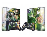 XBOX 360 Slim E Plants vs. Zombies Vinyl Skin [Pacers Skin, BOX1330-011]