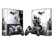 XBOX 360 Slim E Batman Arkham City Vinyl Skin [Pacers Skin, BOX1330-104]
