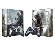 XBOX 360 Slim E Assassin's Creed 3 Vinyl Skin [Pacers Skin, BOX1330-129]