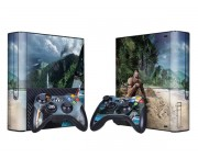 XBOX 360 Slim E Far Cry 3 Vinyl Skin [Pacers Skin, BOX1330-203]