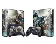 XBOX 360 Slim E Ghost Recon - Future Soldier Vinyl Skin [Pacers Skin, BOX1330-133]