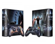 XBOX 360 Slim E Star Wars Force Unleashed 2 Vinyl Skin [Pacers Skin, BOX1330-029]