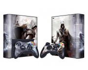XBOX 360 Slim E Assassin's Creed 2 Vinyl Skin [Pacers Skin, BOX1330-037]