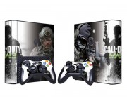 XBOX 360 Slim E Call of Duty Modern Warfare 3 Vinyl Skin [Pacers Skin, BOX1330-101]