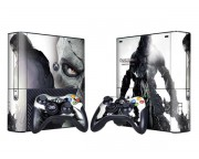 XBOX 360 Slim E Darksiders 2 Vinyl Skin [Pacers Skin, BOX1330-128]