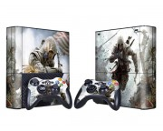 XBOX 360 Slim E Assassin's Creed 3 Vinyl Skin [Pacers Skin, BOX1330-134]