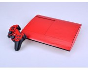 Playstation 3 4K Super Slim Carbon Skin [Pacers Skin, PS3S4001-R]