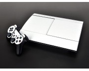 Playstation 3 4K Super Slim Carbon Skin [Pacers Skin, PS3S4001-W]