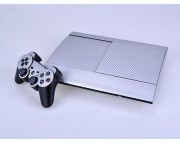 Playstation 3 4K Super Slim Carbon Skin [Pacers Skin, PS3S4001-S]