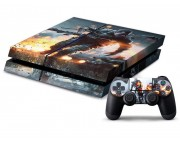 Playstation 4 Battlefield 4 Vinyl Skin [Pacers Skin, PS41363-004]