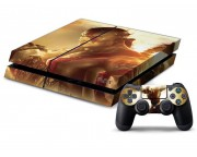 Playstation 4 God of War Vinyl Skin [Pacers Skin, PS41363-011]