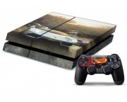 Playstation 4 The Crew Vinyl Skin [Pacers Skin, PS41363-033]
