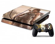 Playstation 4 Tomb Raider Vinyl Skin [Pacers Skin, PS41363-038]