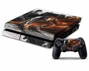 Playstation 4 inFamous: Second Son Vinyl Skin [Pacers Skin, PS41363-052]