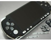 PSP 3000 előlap *Smooth Black*