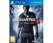 Uncharted 4: A Thief's End szoftver (PS4)