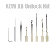 XCM X8 Case Unlock Kit Xbox 360 Slim konzolhoz