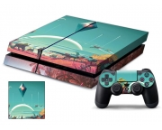 Playstation 4 No Man's Sky Vinyl Skin [Pacers Skin, PS41363-157]