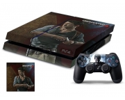 Playstation 4 Uncharted 4 Vinyl Skin [Pacers Skin, PS41363-144]