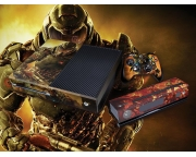 XBOX One Doom Vinyl Skin [Pacers Skin, ONE1366-066]
