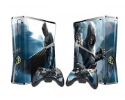 XBOX 360 Slim Assassin's Creed Vinyl Skin [Pacers Skin, BOX1015-07]