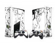 XBOX 360 Slim coloured Vinyl Skin [Pacers Skin, BOX1015-08]