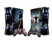 XBOX 360 Slim Star Wars Force Unleashed 2 Vinyl Skin [Pacers Skin, BOX1015-29]