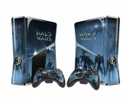 XBOX 360 Slim Halo Wars Vinyl Skin [Pacers Skin, BOX1015-31]