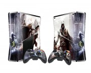 XBOX 360 Slim Assassin's Creed 2 Vinyl Skin [Pacers Skin, BOX1015-37]