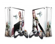XBOX 360 Slim Final Fantasy 13 Vinyl Skin [Pacers Skin, BOX1015-44]