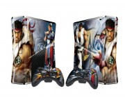 XBOX 360 Slim Street Fighter 4 Vinyl Skin [Pacers Skin, BOX1015-48]
