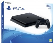Playstation 4 SLIM 500 GB Fekete (CUH-2116) (PS4)