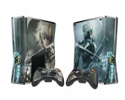 XBOX 360 Slim Metal Gear Rising - Revengeance Vinyl Skin [Pacers Skin, BOX1015-94]